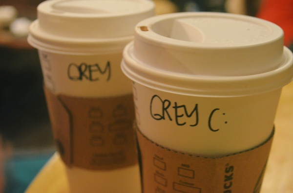 Hot Chocolate for Mrs. and Mr. Grey
