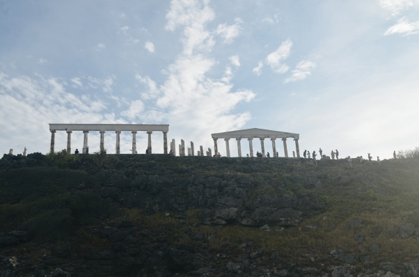 Fotune Island's Famous Greece Pillars