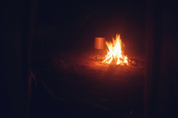 Campfire at Night