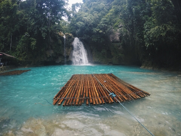 The first falls of Kawasan