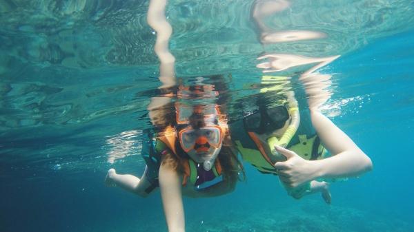 Snorkeling at Pescador