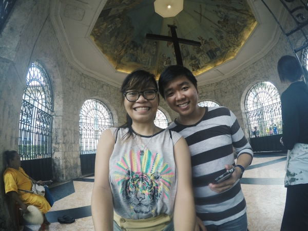 Mactan Shrine Slefie Fail